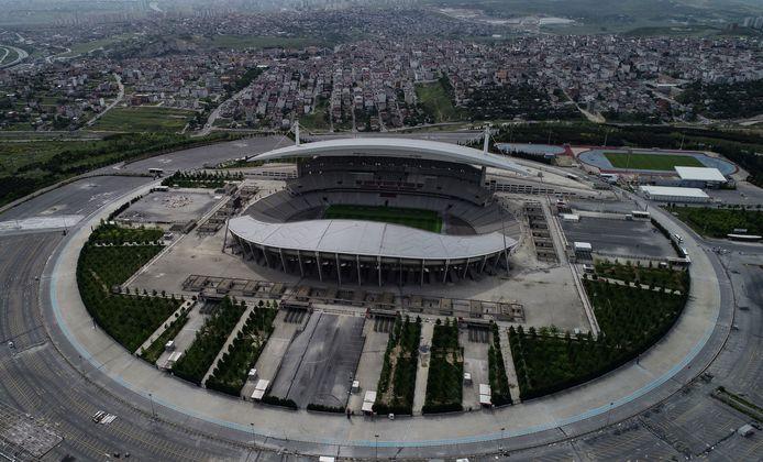Het Atatürkstadion in Istanboel.