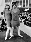 Modeshows waren al vanaf het prille begin populair.