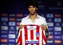 João Félix, de negentienjarige Portugees van 126 miljoen euro, is binnenkort te bewonderen in het shirt van Atlético Madrid.