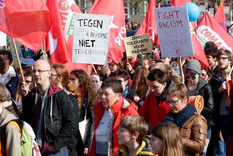 De betoging trok vorig jaar volgens de politie zo'n 3000 deelnemers.
