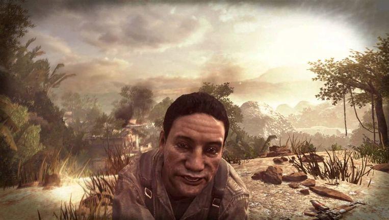 De Panamese oud-dictator Manuel Noriega in de videogame Call of Duty: Black Ops 2. Beeld Screenshot