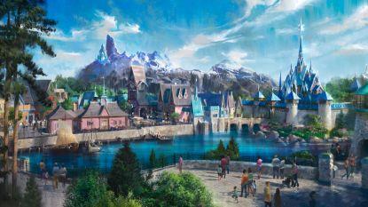 Disneyland Paris toont eerste ontwerp van 'Frozen'-wereld
