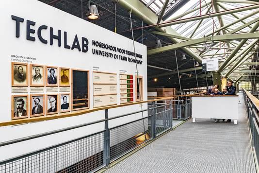 Bezoekers van het spoorwegmuseum waren al bekend met het Techlab, vanaf dit weekend wordt er nog een schepje bovenop gedaan met Techlab XL.