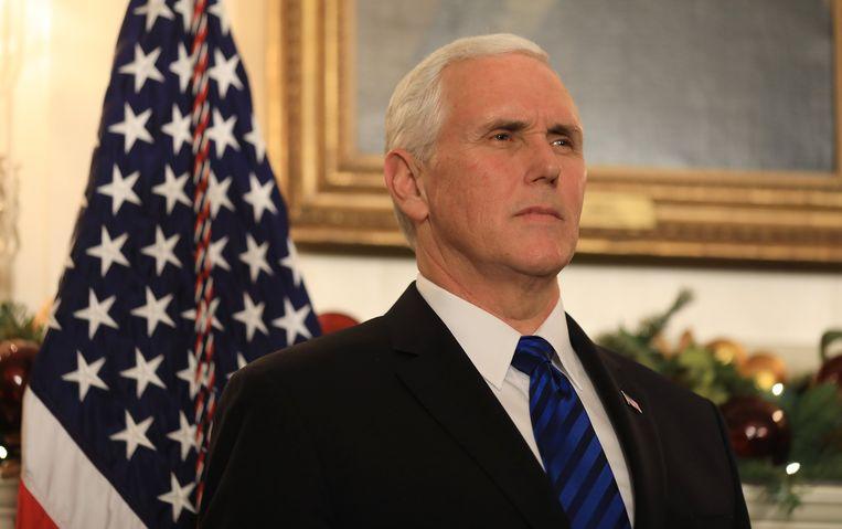 De Amerikaanse vicepresident Mike Pence