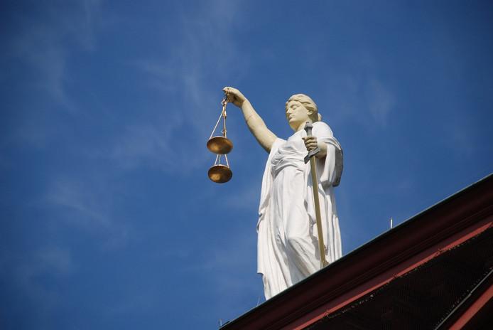 Vrouwe Justitia, ter illustratie.