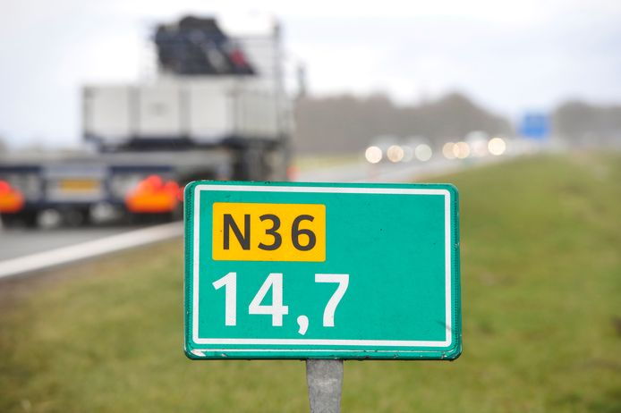 Vanaf maandag 20 september wordt er onderhoud uitgevoerd aan de N36.