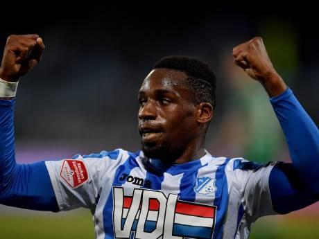 Historische galavoorstelling FC Eindhoven tegen FC Dordrecht met hoofdrol voor Elton Kabangu: 8-1