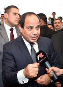 President Abdel Fattah al-Sisi.