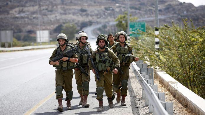 Israëlische soldaten.