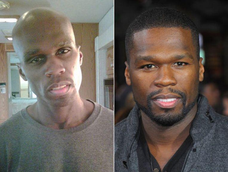50 Cent onderging een indrukwekkende transformatie voor de film 'Things fall Apart' Beeld Daily News