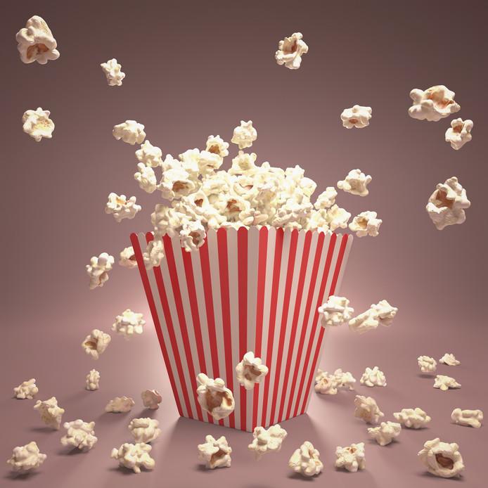 De ouders waren naar de bioscoop en gokten erop dat de kinderen niet wakker zouden worden.