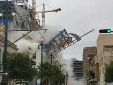 Bijna voltooid hotel in New Orleans ingestort: één dode, twee vermisten en ettelijke gewonden