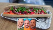 """Marc Van Ranst heeft nu eigen broodje: """"Met de kleuren van zijn truien in"""""""