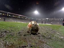 Un match de foot clandestin avec arbitre et public à Verviers