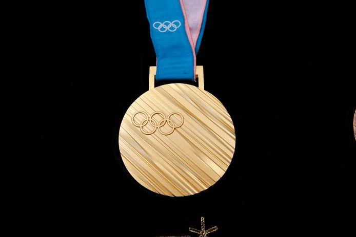 Image d'illustration d'une médaille d'or
