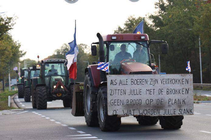 Leuzen van tractoren lopen uiteen