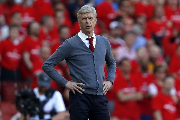 De Fransman Arsène Wenger was 22 jaar manager van Arsenal. Beeld AFP