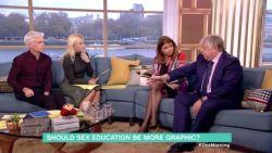"""Goedele Liekens onder vuur in Britse talkshow: """"Dit grenst aan kindermisbruik"""""""