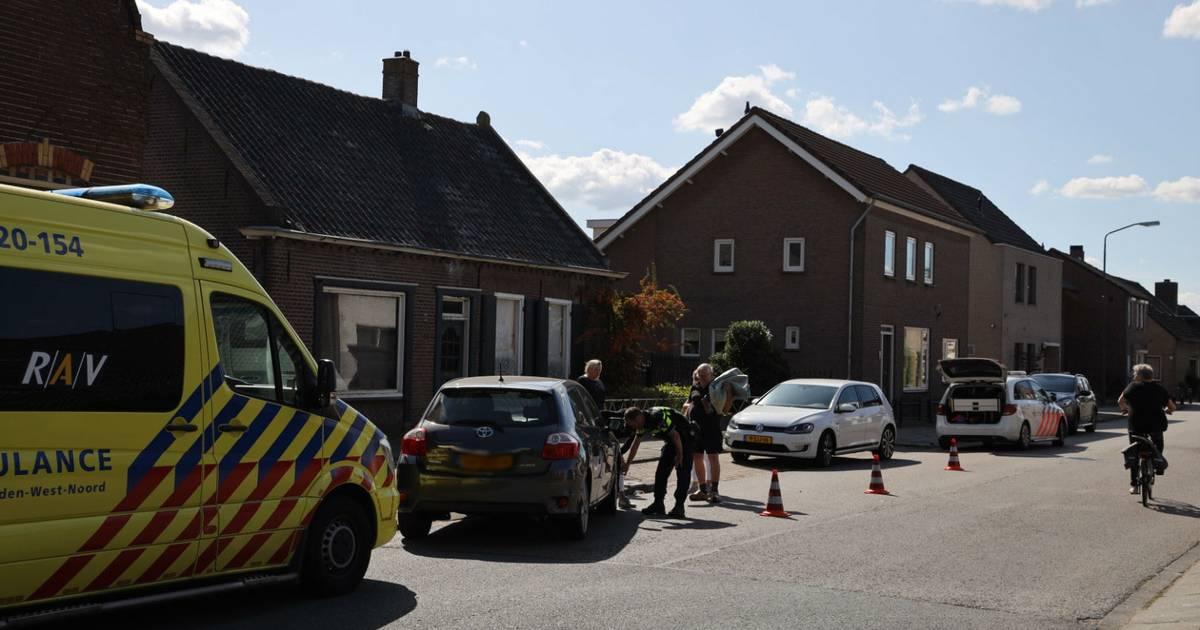 Jongen op fiets aangereden door auto in Sprang-Capelle.
