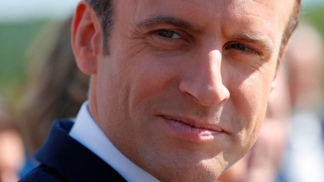 Populariteit Franse president Macron gevoelig gedaald
