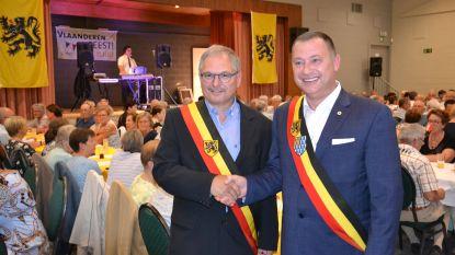 Vierhonderd inwoners én gemeentebestuur Linter vieren Vlaamse feestdag
