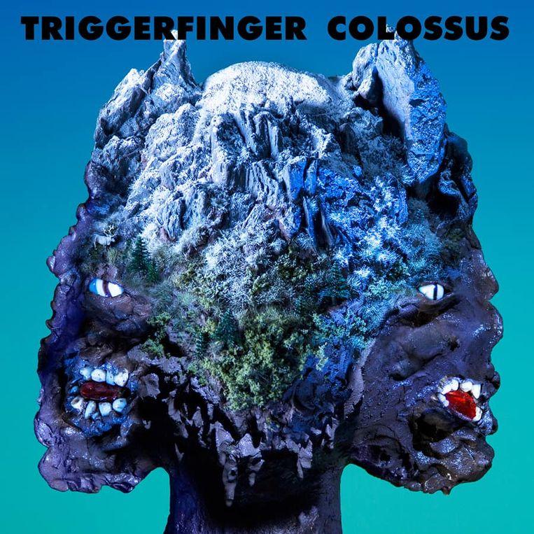 De lyrics van Colossus toont het beest met de twee ruggen in zijn meest amorfe gedaante, net zoals de hoes doet vermoeden.  Beeld © Victor Robyn
