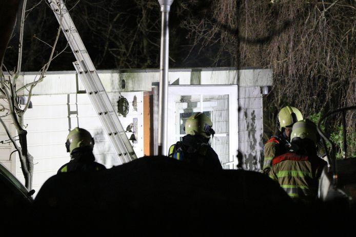 De brandweer had de brand snel onder controle.