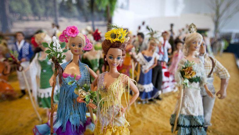 Barbiepoppen. Beeld epa