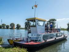 'Al deze zomer een fiets- en voetveer over de Maas bij Overasselt'