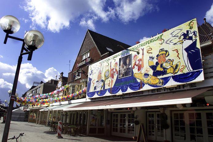 Carnavalsgevels op de Markt in Valkenswaard, 2017