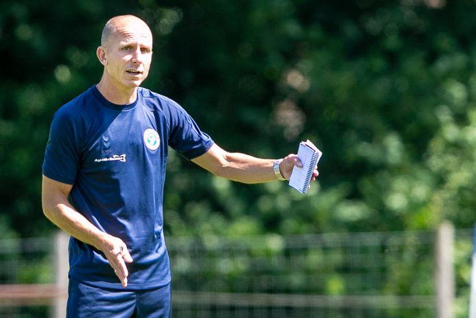 De Graafschap-trainer Reinier Robbemond.