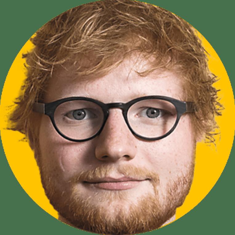 Ed Sheeran. Beeld DM