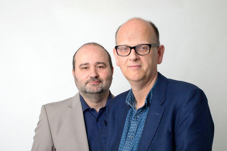 Christian van der Heijden & Stijn Fens. Beeld Maartje Geels