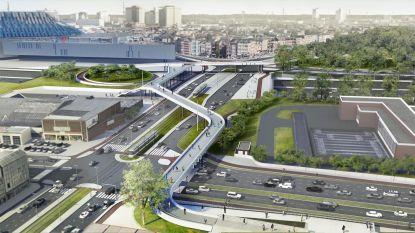 Bouw voetgangersbrug tussen Spoor Oost en het Sportpaleis start volgende week