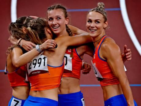 Femke Bol laat zien wat vreugde is, zusjes De Witte delen bijzonder moment op Spelen