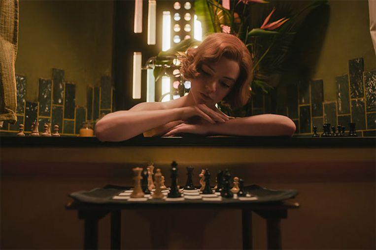 The Queen's Gambit Beeld Netflix