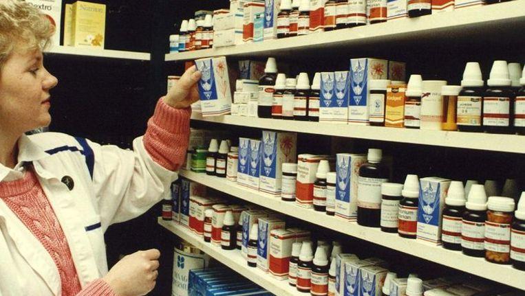 Homeopatische middelen. Beeld null