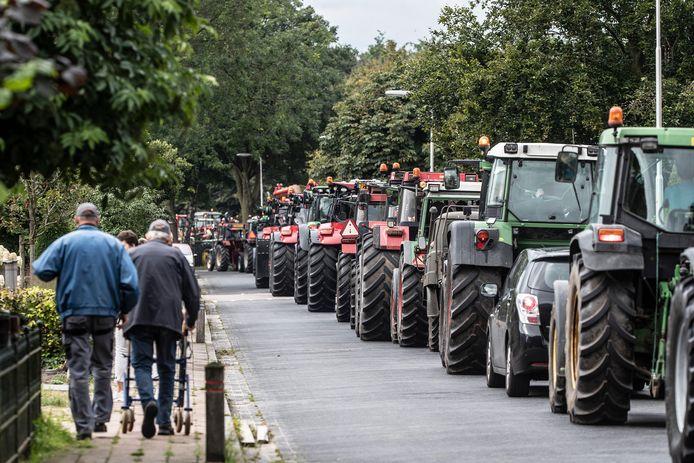 Dit keer wel een Tractor Sterrit en Trekkerbal in Lievelde.