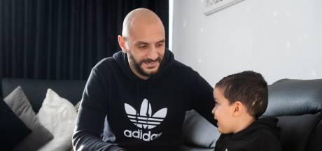 Bredase zaalvoetbalinternational Saadouni heeft thuis een kleine man met een leeuwenhart