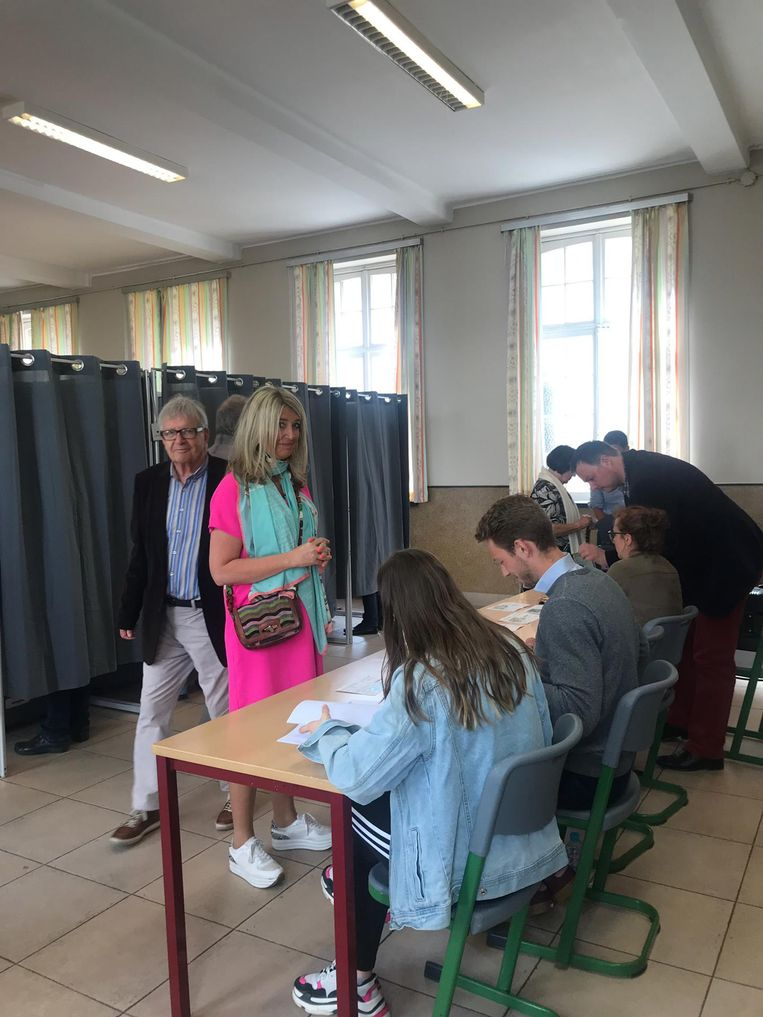 Mercedes Van Volcem (Open Vld) bracht al haar stem uit.