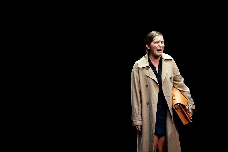 Marleen Scholten in 'La codista' Beeld Luca Chiaudano