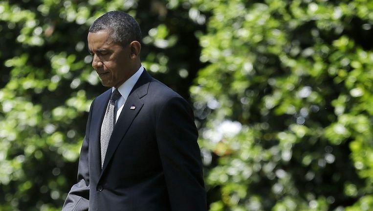President Barack Obama Beeld ap