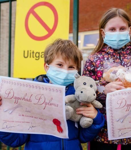 Coronavirus verspreidt zich op scholen: extra kinderteststraten voor jonge bezoekers