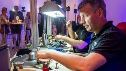 Meteen wereldrecord op openingsweekend nieuw Antwerps diamantmuseum: 57 uur diamantslijpen
