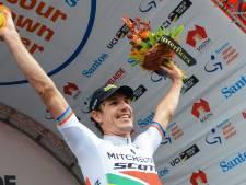 Impey wint vierde rit Tour Down Under, Van Baarle beste Nederlander
