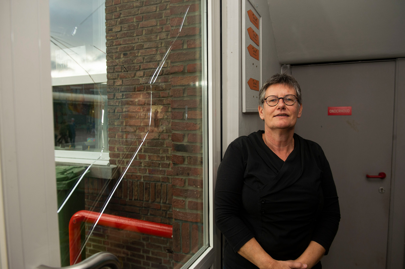 Volgens directrice Sonja Heughebaert hebben veel leerkrachten moeite gehad met het verwerken van het drama.