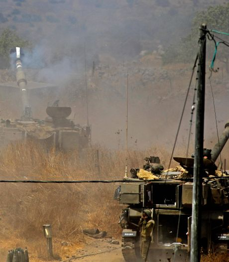 Israël beantwoordt raketvuur uit Libanon met artilleriebeschietingen
