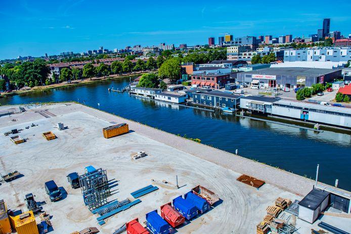 De Binckhorst in aanbouw; het nieuwe wonen voor Den Haag.