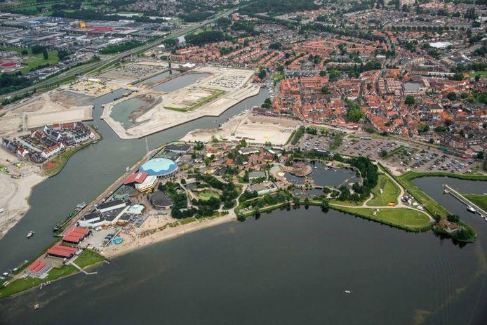Het Dolfinarium in Harderwijk.