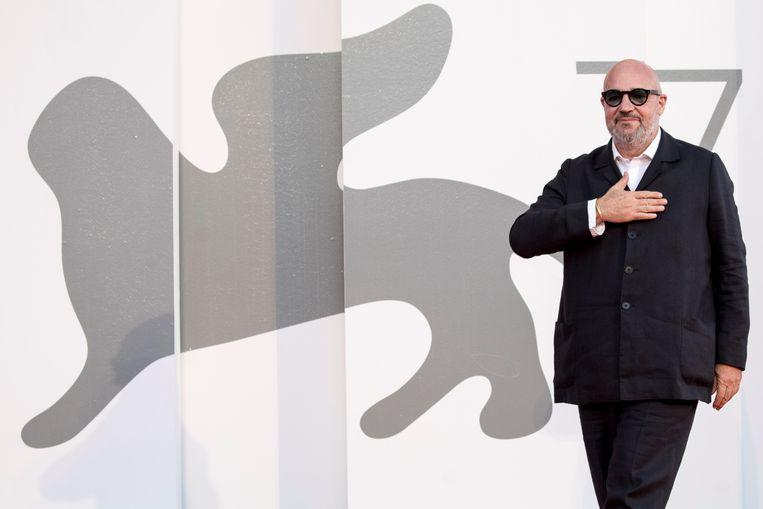 Gianfranco Rosi op het filmfestival van Venetië. Beeld Corbis via Getty Images